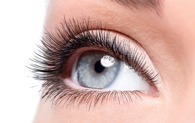 Eye mascara header