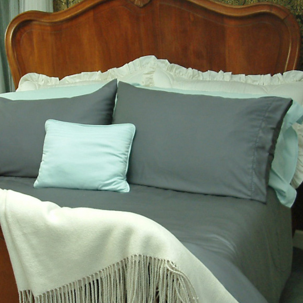 Allergy Friendly Bamboo Bed Linen in Duck Egg Blue