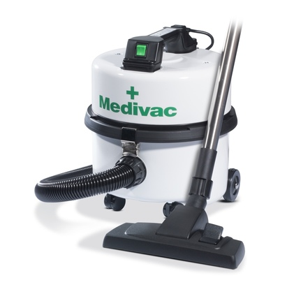 Click to enlarge - The New Improved Medivac Compact anti-allergy vacuum cleaner