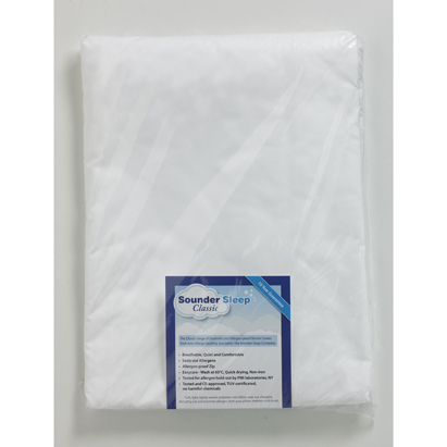 Click to enlarge - Classic Microfibre Dustmite Proof Mattress Barrier Covers