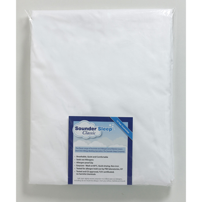 Click to enlarge - Classic Microfibre Dustmite Proof Duvet Barrier Covers