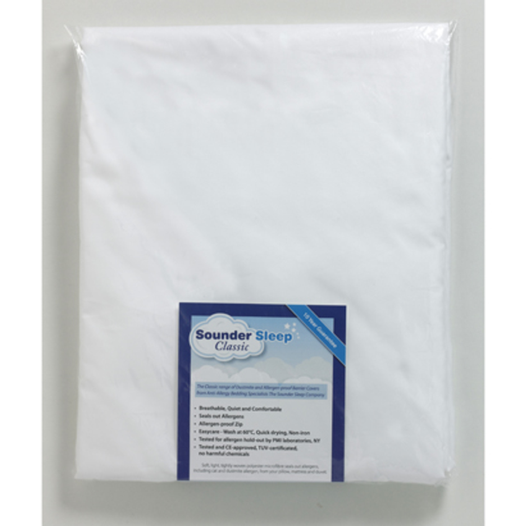 Classic Microfibre Dustmite Proof Duvet Barrier Covers