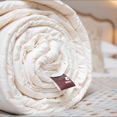 Click to enlarge - Natural Wool-filled Duvet