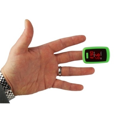 Click to enlarge - Fingertip Pulse Oximeter