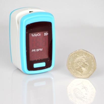 Click to enlarge - Fingertip Pulse Oximeter