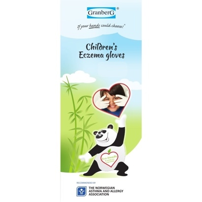 Click to enlarge - Children's Bamboo Gloves for Eczema