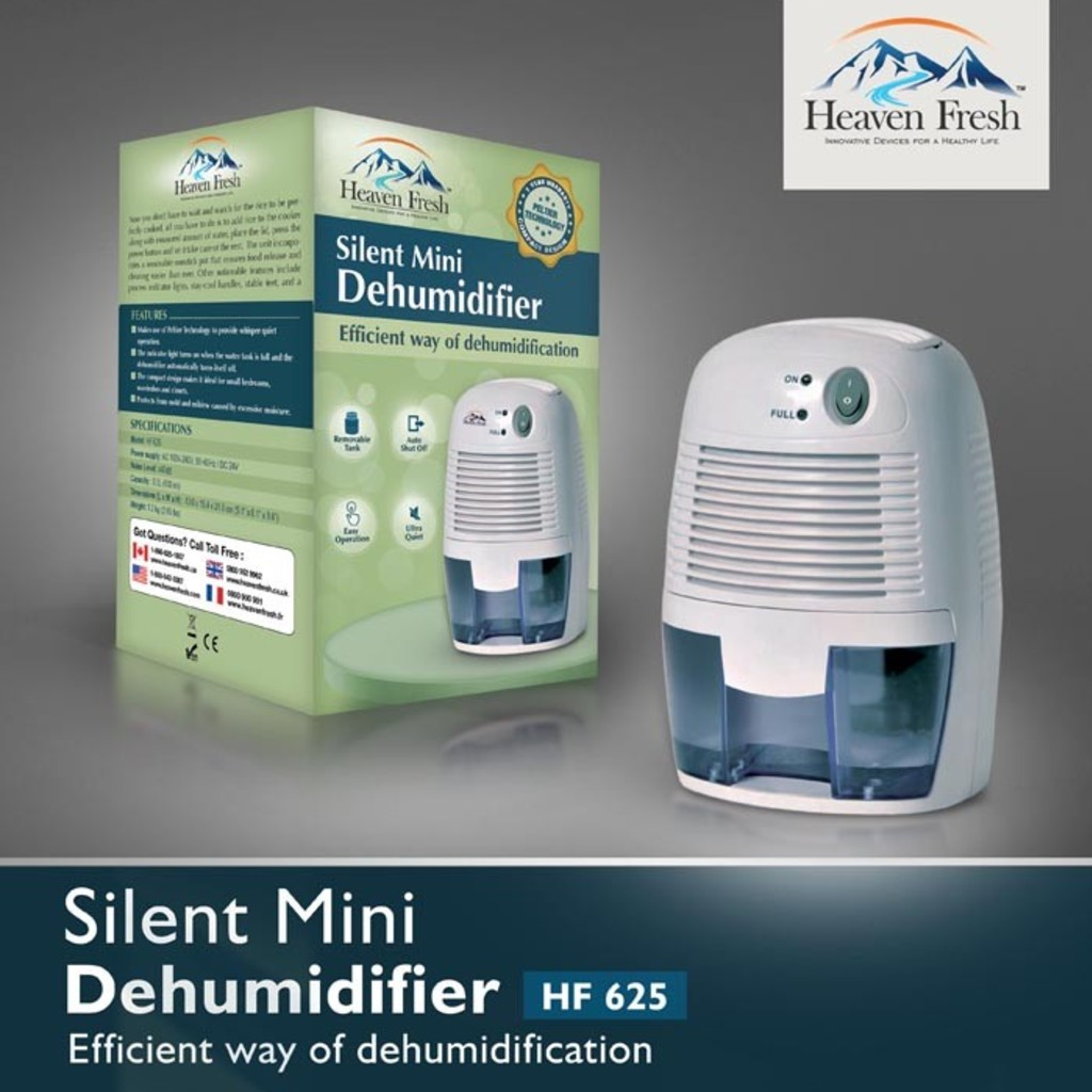 Heaven Fresh HF625 Mini Dehumidifier