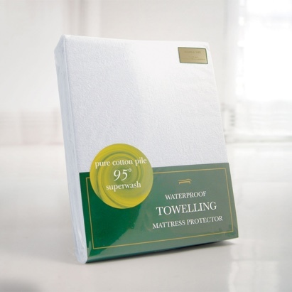 Click to enlarge - Waterproof Allergen Barrier Cover for Mattresses