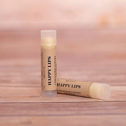 Click to enlarge - Unscented Luxury Lip Balm