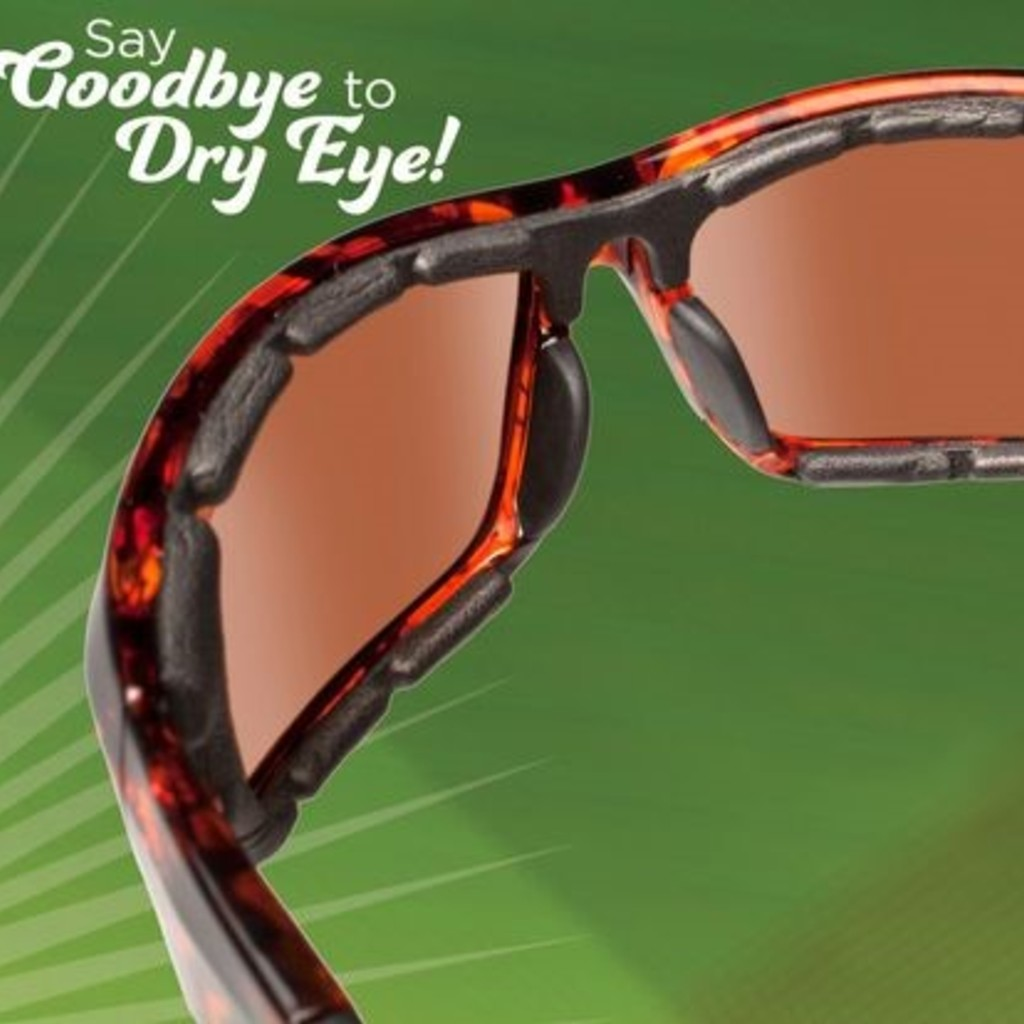 Wraparound Sunglasses for Hayfever & Dry Eye Relief