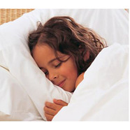 Girl in bed child bed set featured tile