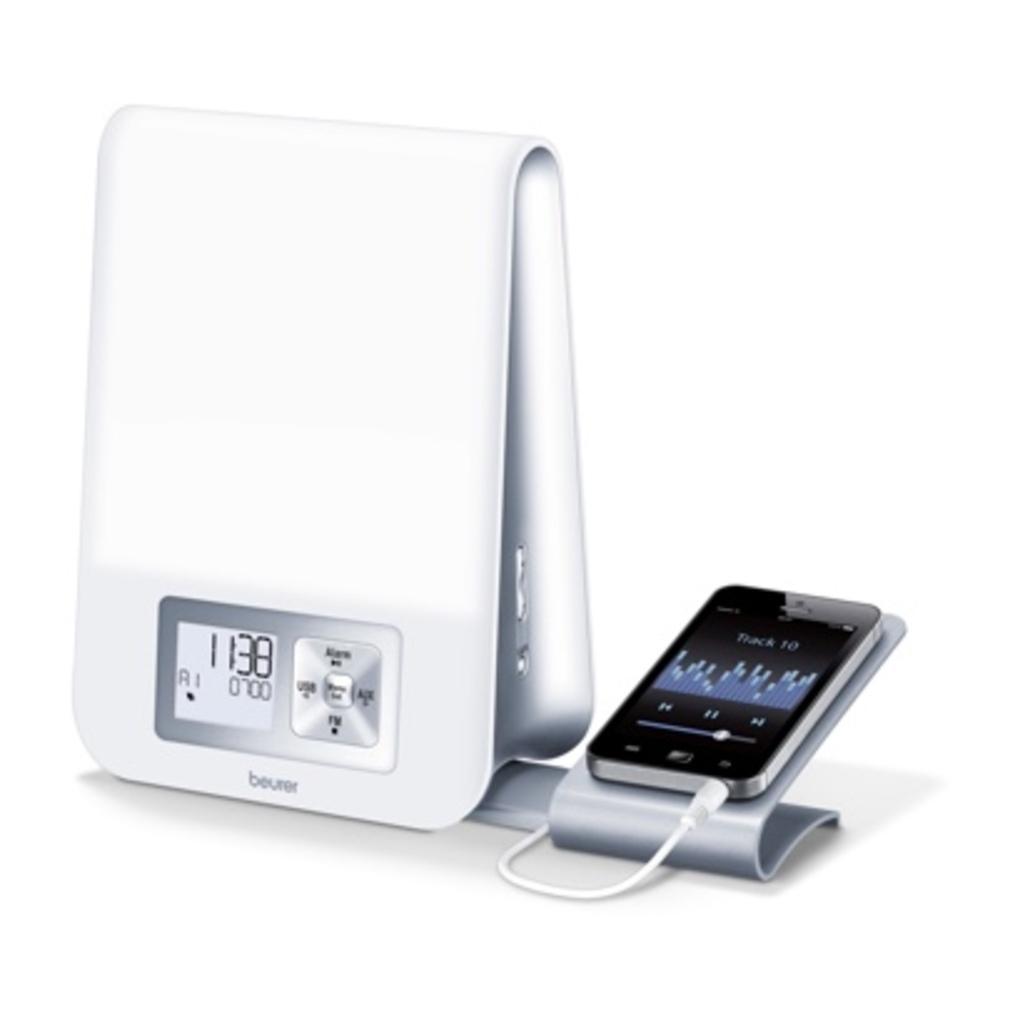 Wake-up Light with MP3 Dock & Radio