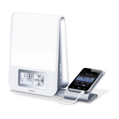 Click to enlarge - Wake-up Light with MP3 Dock & Radio