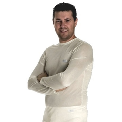 Click to enlarge - DermaSilk Men's Therapeutic Long-sleeved Base Layer