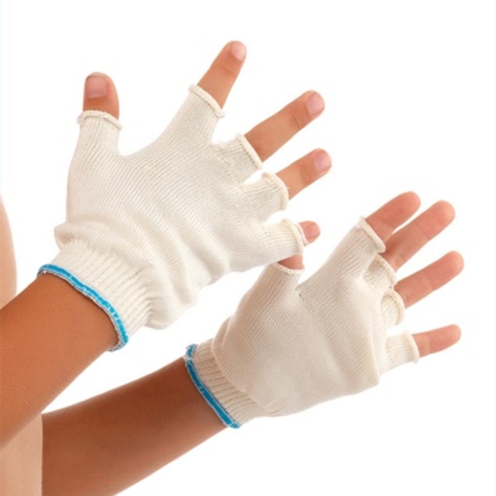 DermaSilk Therapeutic Fingerless Gloves for Children