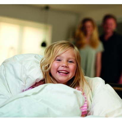 Click to enlarge - Hypoallergenic Down & Feather Duvet
