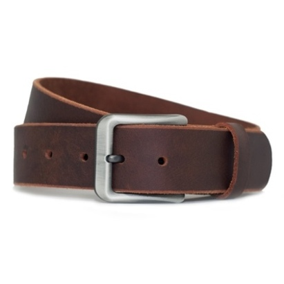 Click to enlarge - Nickel-free Men's Casual Leather Belt by Nickel Smart™