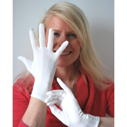Click to enlarge - Adults' Bamboo Gloves for Eczema