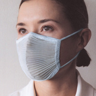 Category tile microairscreen face mask