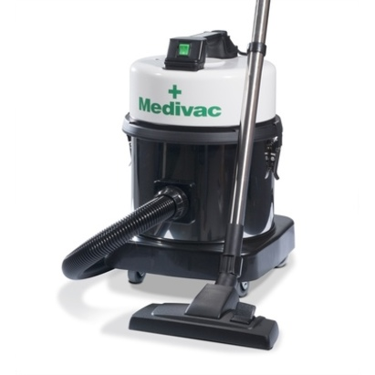Click to enlarge - Medivac Microfilter Vacuum Cleaner for Allergies Complete with Tools