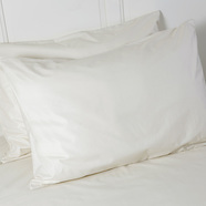Natural pillow protector featured tile