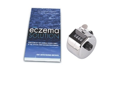 Click to enlarge - The Eczema Solution' & Tally Counter