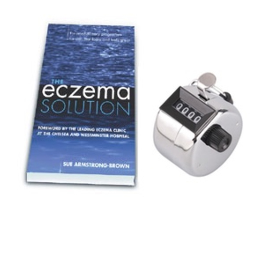STAR BUY! 'The Eczema Solution' & Tally Counter