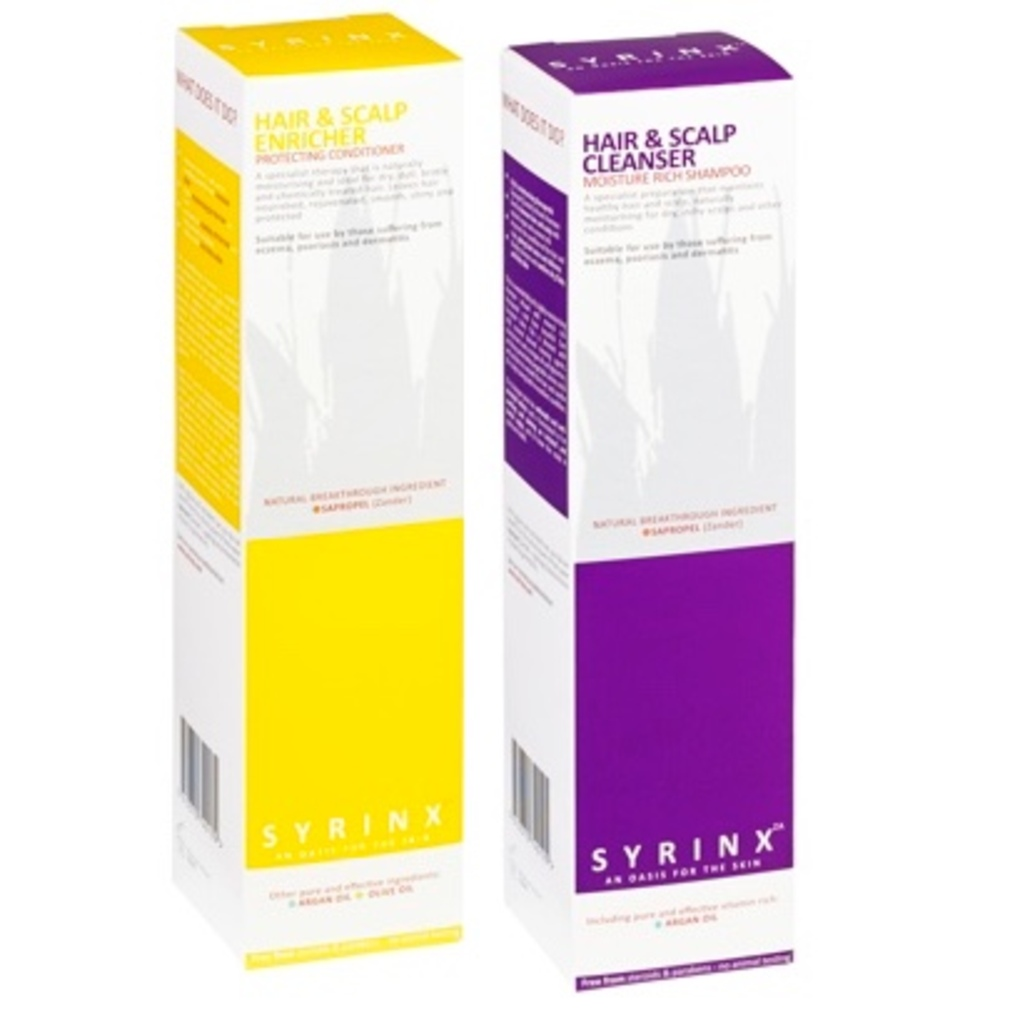 Syrinx ZA Two Step Treatment for Dry and Itchy Scalps
