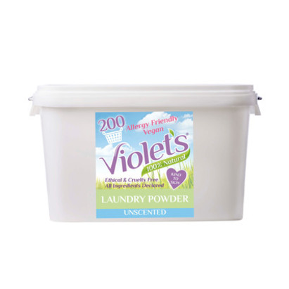 Click to enlarge - Violet's 100% Natural UNSCENTED Laundry Powder