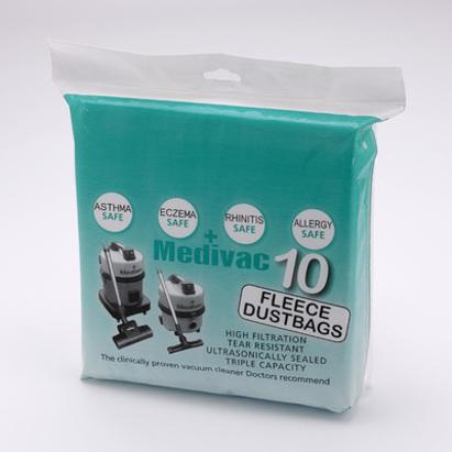 Click to enlarge - Medivac Fleece Dustbags