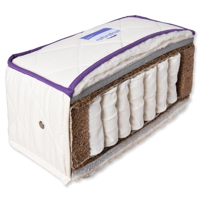Click to enlarge - Sumptuous Natural Pocket Sprung Mattress