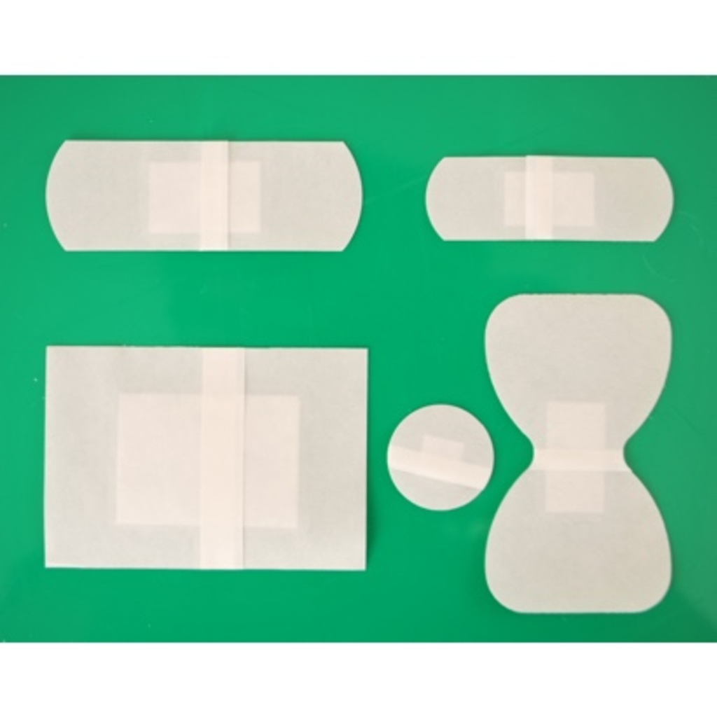 Hypoallergenic Clear Washproof Plasters