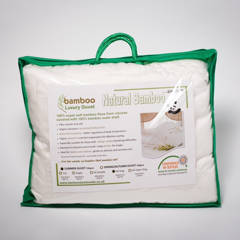 Allergy Friendly Bamboo Duvets and Mattress Toppers