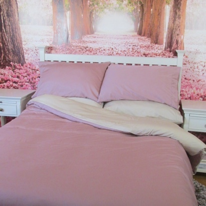 Click to enlarge - Allergy Friendly Bamboo Bed Linen in Heather