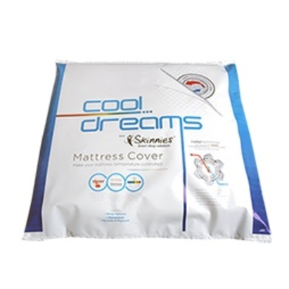 Click to enlarge - Cool Dreams Thermo-Regulating Mattress Cover