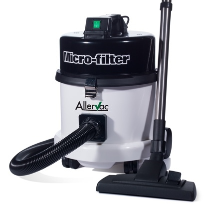 Click to enlarge -  AllerVac Microfilter Vacuum Cleaner