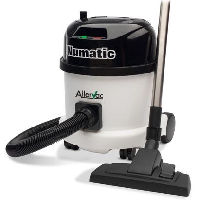 Click to enlarge - The Allervac H13 anti-allergy vacuum cleaner helps alleviate the symptoms of eczema, asthma and duct mite allergy.