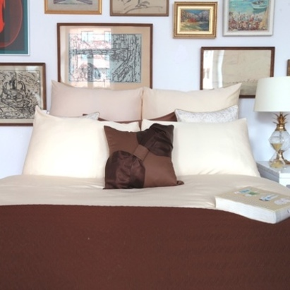 Click to enlarge - Allergy Friendly Bamboo Bed Linen in Clotted Cream