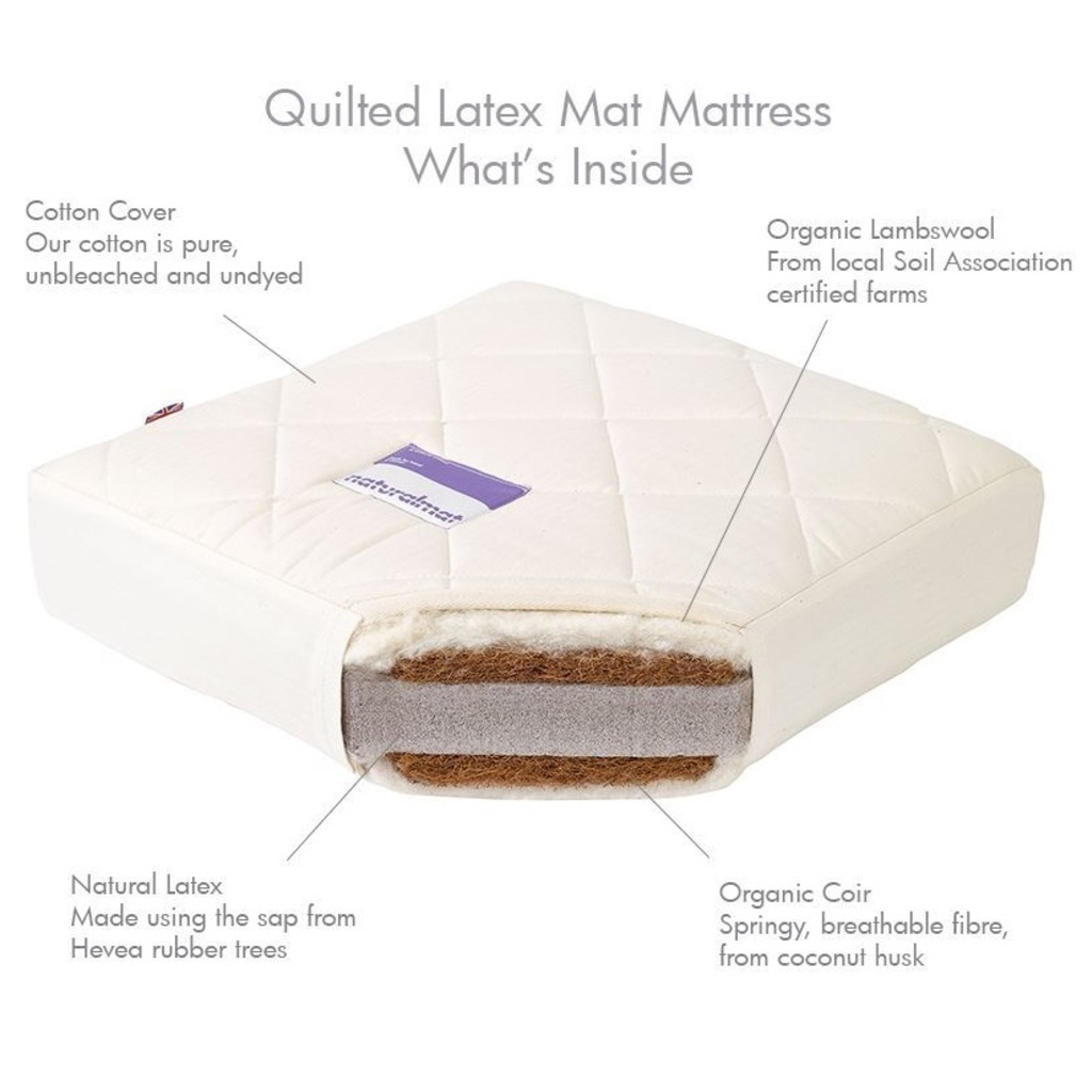 Natural chemical-free mattresses for children & babies