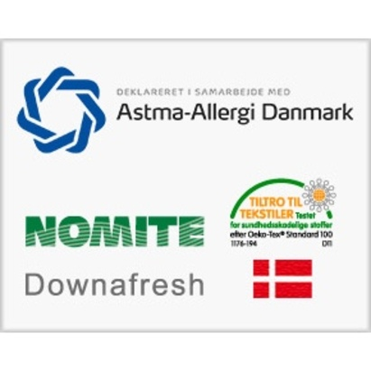 Click to enlarge - Pure & Care 100% Natural Duvets for Allergies