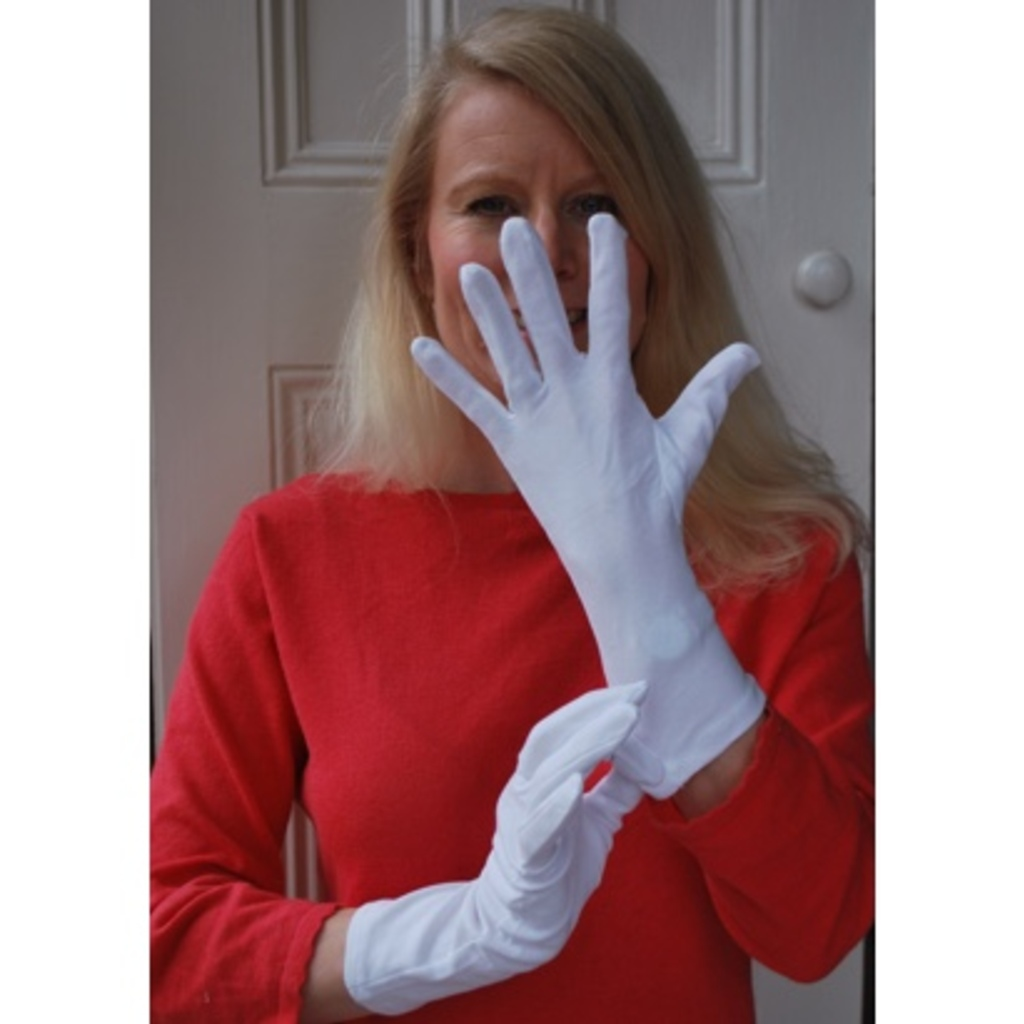 Black cotton gloves for eczema - White Cotton Gloves For Adults And Children