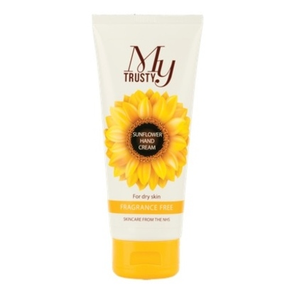 Click to enlarge - My Trusty® Unscented Sunflower Hand Cream