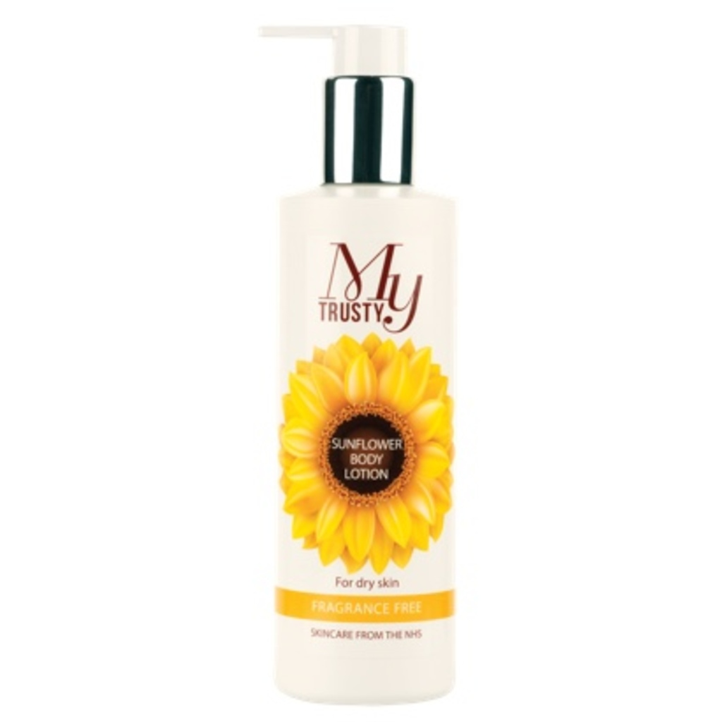 My Trusty® Unscented Sunflower Body Lotion