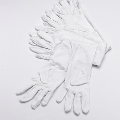 Click to enlarge - White Cotton Gloves for Babies and Toddlers