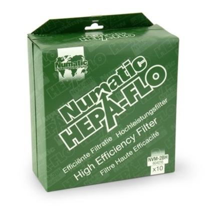 Click to enlarge - AllerVac HepaFlo Fleece Dustbags Pack of 10