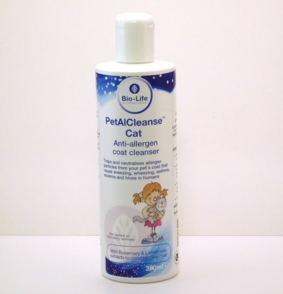 Click to enlarge - PetalCleanse™ for Cat & Small Animal Allergy