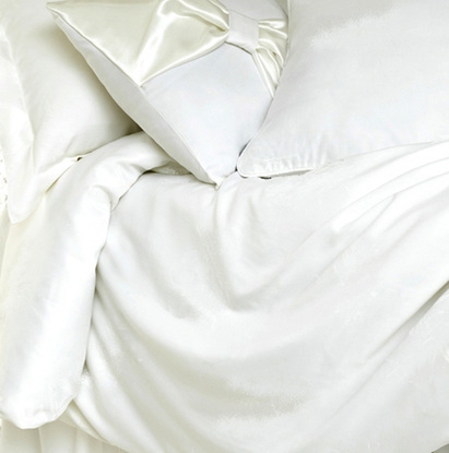 Click to enlarge - Allergy Friendly Bamboo Duvet Cover & Pillow Case Set in Natural White