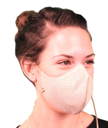 Click to enlarge - multi-purpose mask with carbon filter