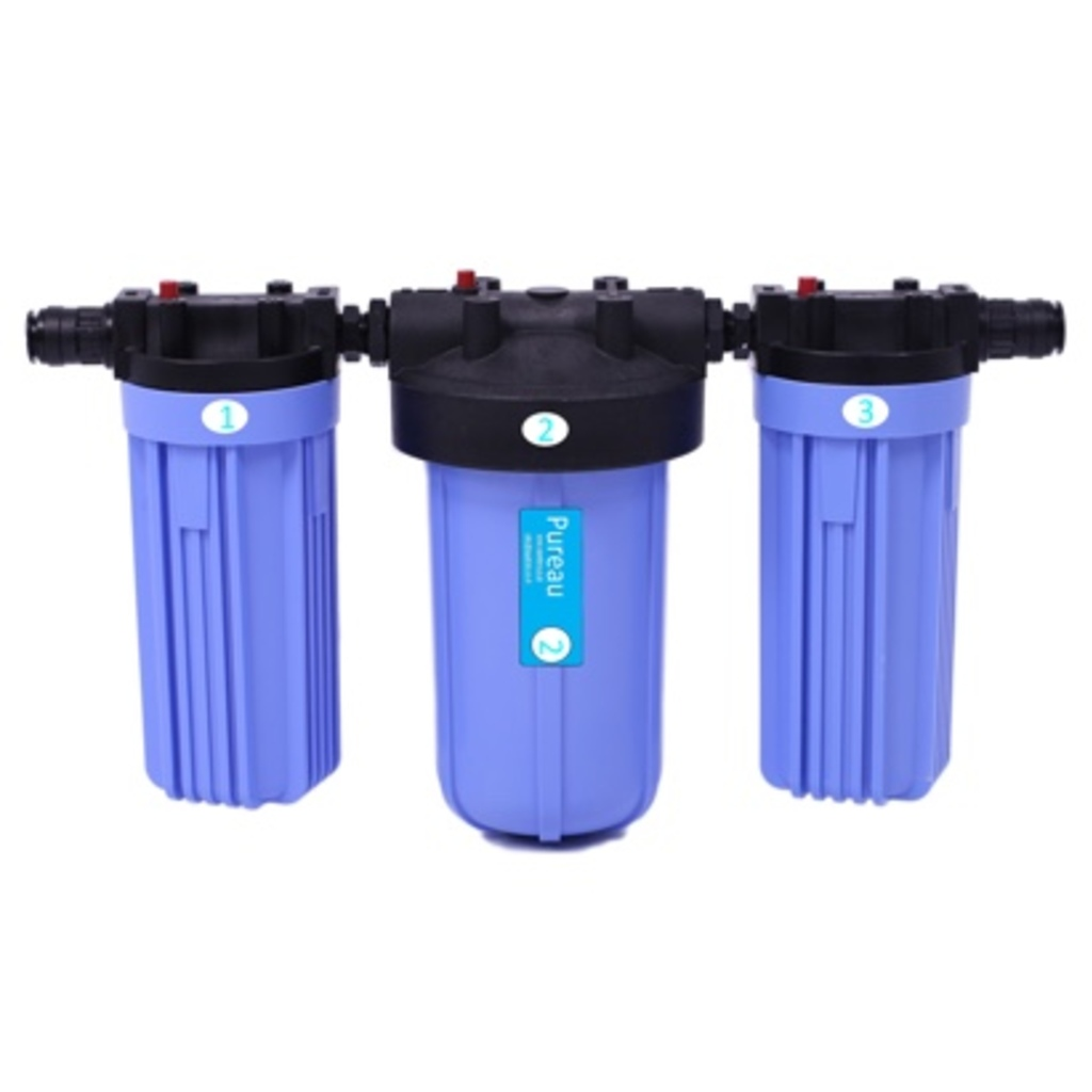 Pureau No-Salt Whole House Water Filter System