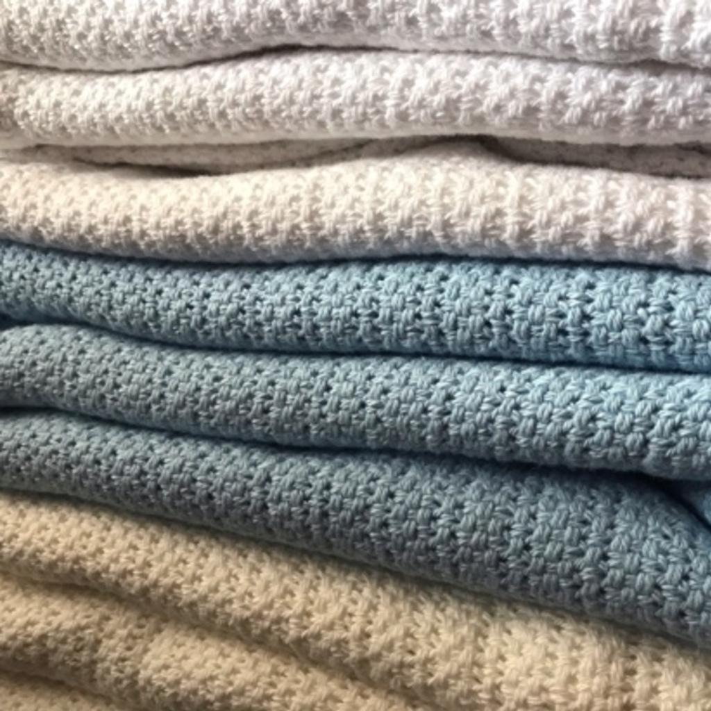 100% Cotton Cellular Blanket
